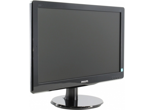 Philips 19.5 200V4LAB2 (00/01) черный TFT LED 5ms 16:9 DVI M/M матовая 600:1 200cd 1600x900 D-Sub HD READY 2.72кг (-PHILIPS)