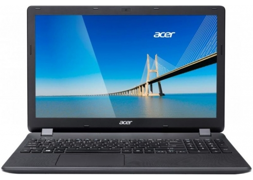 "Ноутбук  Acer 2 ядра Celeron N3060/4Gb/500Gb/DVD-RW/Intel HD Graphics, 15.6"", HD (1366x768)/BT/Cam/Windows 10/MS Office Standard 2016/Kaspersky/black"