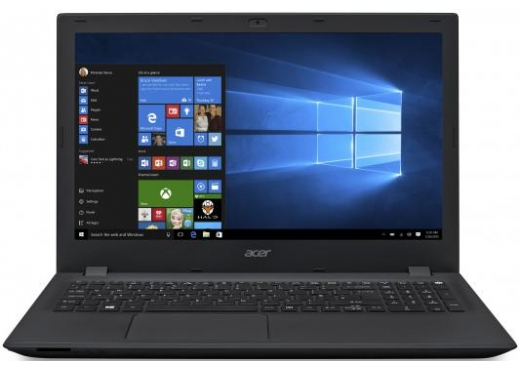"Ноутбук Acer 2 ядра Celeron 2957U/2Gb/500Gb/DVD-RW/Intel HD Graphics, 15.6"", HD (1366x768)/WiFi/BT/Cam/Windows 10/MS Office Standard 2016/Kaspersky/black"