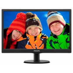 Philips 193V5LSB2 Glossy-Black TN LED 5ms 16:9 10M:1 200cd